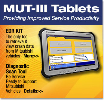 MUT-III The Newest Generation Diagnostic Scan Tool